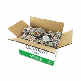 White sugar packets (5g, 10kg box)