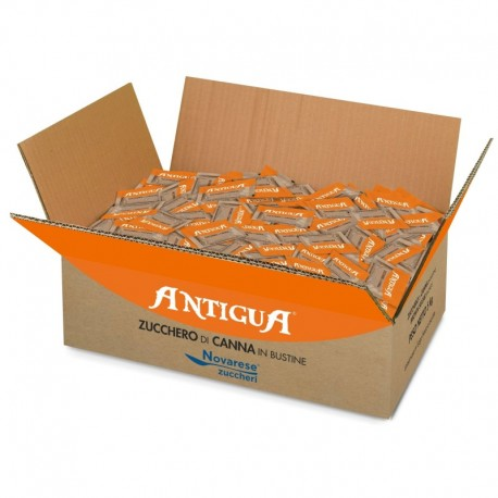 """Antigua"" cane sugar packets (5.5g, 5kg box)"