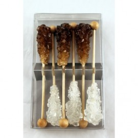 "Candy sticks ""Amber & White"""