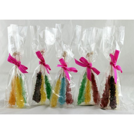 """Caramelos de palo grandes """"Rainbow"""""""