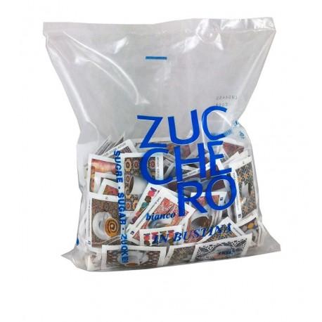 Zucchero bianco in bustine sacch. kg 1