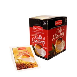 Café al ginseng - caja expositora