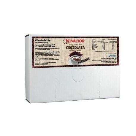 Chocolate caliente amargo - caja expositora