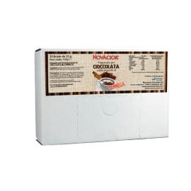 Chocolates calientes saborizados - caja expositora