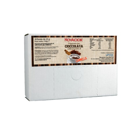 Flavoured hot chocolate - display box