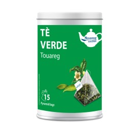 """Touareg"" green tea - 15 tea bags jar"