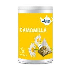 Chamomile herbal tea - 15 tea bags jar