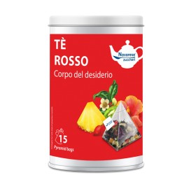 """Té rojo """"Corpo del Desiderio"""" – 15 bolsitas de té en lata"""