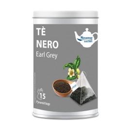 """Té negro """"Earl Grey"""" – 15 bolsitas de té en lata"""