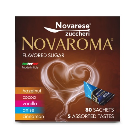 """Novaroma Mixed Flavours"" flavoured sugar"
