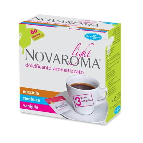 """""""Novarama Light"""" edulcorante saborizado"""