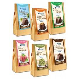 Flanes de chocolate saborizados