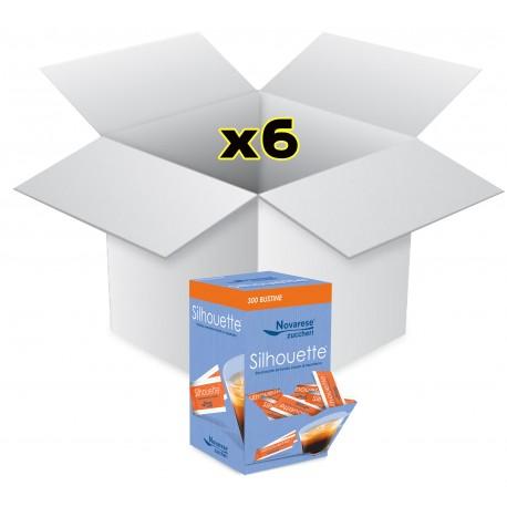 Silhouette edulcorante - caja expositora