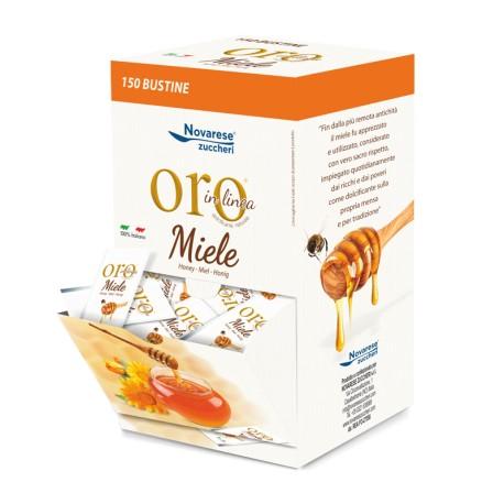 """Miele """"Oro in Linea"""" - espositore bar - Cartone completo da 8 espositori"""