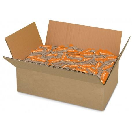 """""""Antigua"""" cane sugar packets (5.5g, 5kg box)"""